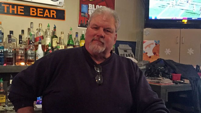"""Ron """"Bear"""" Madej is the owner of The Chicago Bear Sports Bar & Grill on the city's south side."""