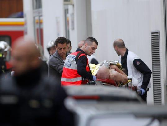 AP FRANCE NEWSPAPER ATTACK I FRA