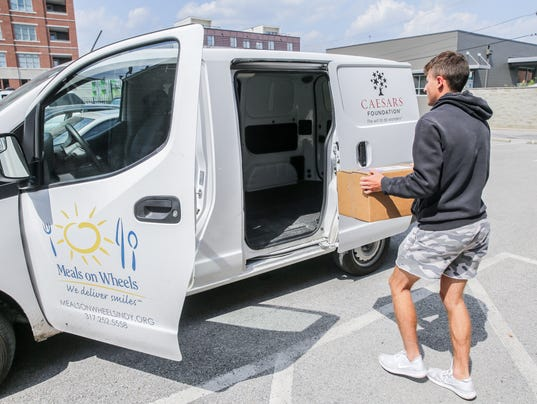 Meals on Wheels of Central Indiana has begun the first statewide effort to deliver food to people living with HIV or AIDS.