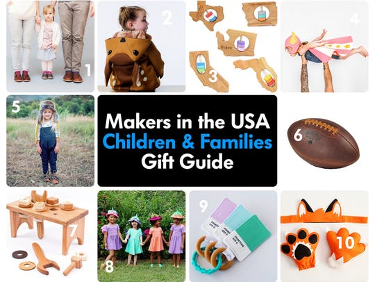 These 10 American makers specialize in items for kids