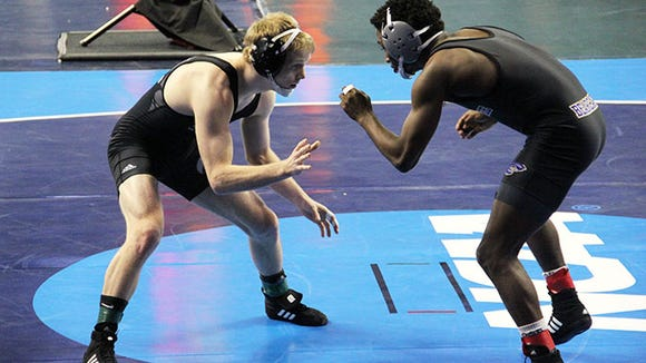 Enka alum Daniel Ownbey, is a redshirt senior for the UNC Pembroke wrestling team.