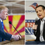 Presidential candidates Donald Trump and Ted Cruz both held rallies in Arizona prior to the state's March 22 primary.