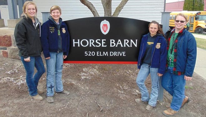 After competing at the state level this spring, the D.C. Everest FFA horse evaluation team qualified for national competition.
