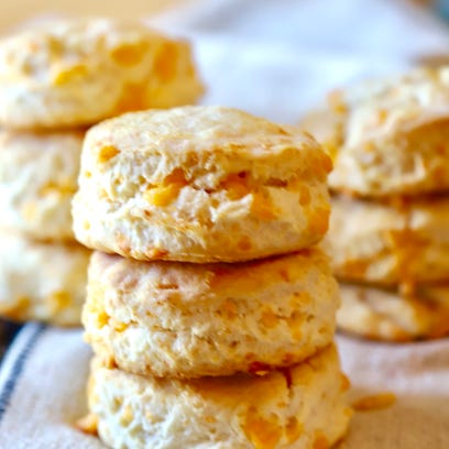 Make a cheddar biscuit miracle for Easter brunch