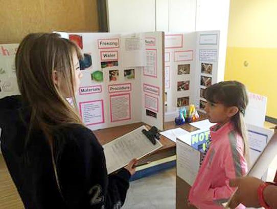Judge Alexis Madrid questions third-grader Isenya Silva