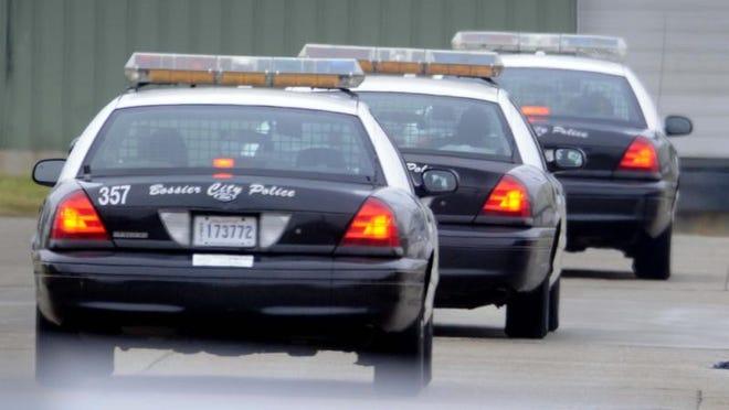 Bossier Police cars