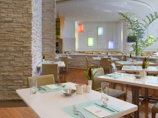 Diners can enjoy elegant seating at Taste at the Westin