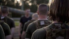 U.S. Marines from Delta Company, Infantry Training