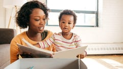Parents who read to their kids from an early age are