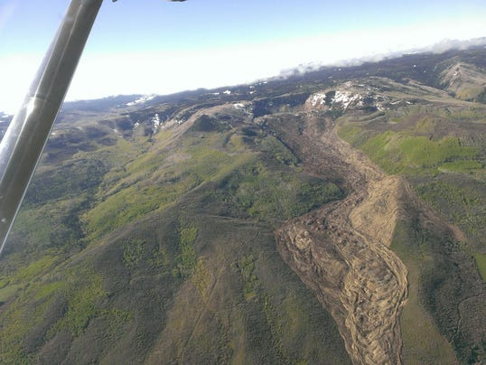Collbran mudslide