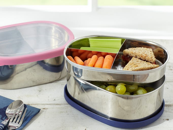 Pottery Barn Kids' Spencer Stainless Bento Box ($48.50,