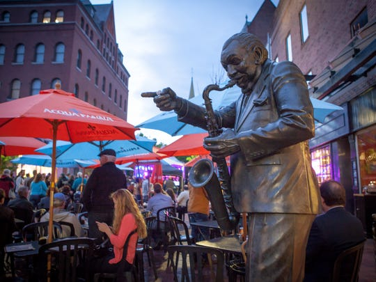 Big Joe Burrell Day on Saturday commemorates the late Burlington saxophone player who is honored with a statue on Church Street.