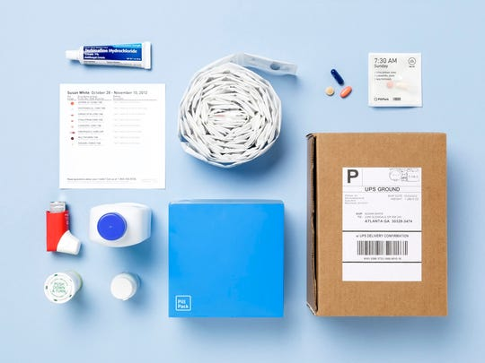 What can be included in a PillPack shipment.