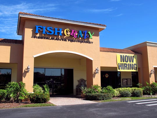 Fish Crazy Restaurant & Fish Market opened in February 2015 and closed in JUly 2017 at Tamiami Square in North Naples on U.S. 41 near the Collier-Lee county line.