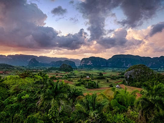 Vinales Valley at the World Heritage Site