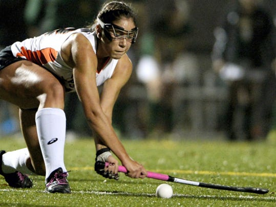 Palmyra's Erin Huffman is one of a host of talented players returning to the  fold for the defending PIAA Class AAA field hockey co-state champs.