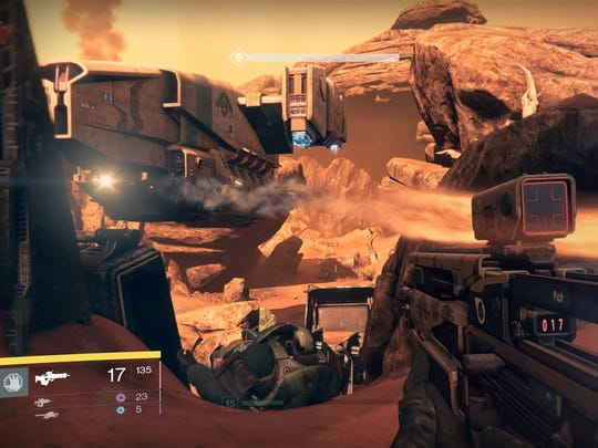 Battle hordes of enemies solo or with others in Destiny's public maps.
