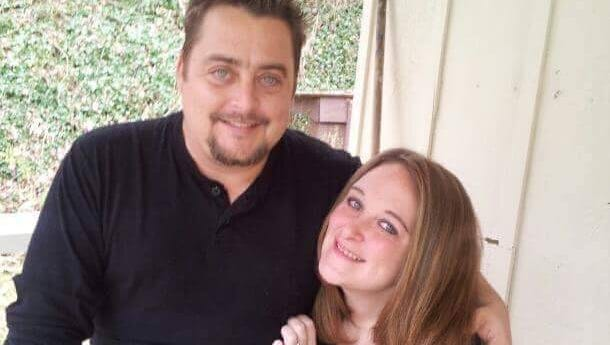 Michael Reed and wife Constance Reed. Constance and daughters Chloe and Lily died in the Gatlinburg wildfires.