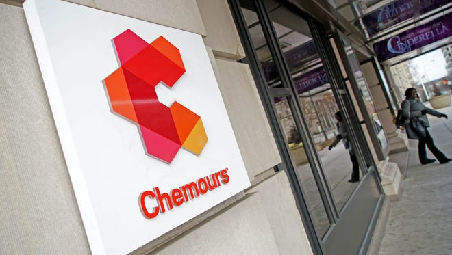 Chemours reported a fourth-quarter loss because of PFOA settlement costs.