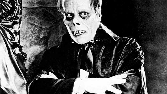 "Lon Chaney stars as the Phantom in 1925's ""The Phantom of the Opera,"" screening Oct. 30, 2015, at the Indiana Landmarks Center."