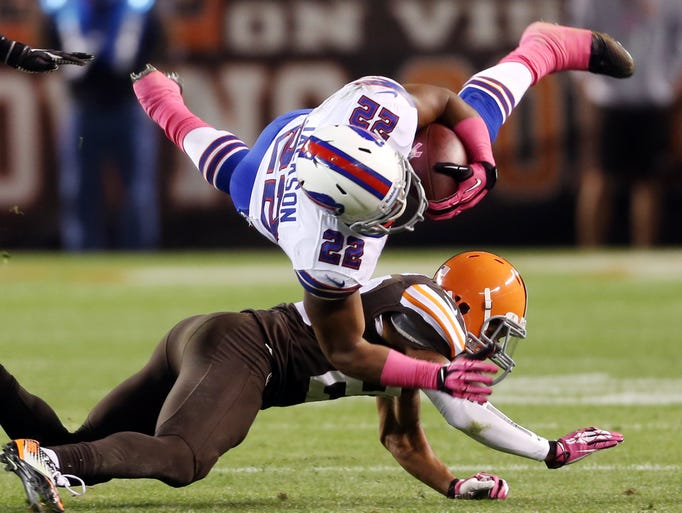 The Bills were tripped up by Cleveland, 37-24, on Thursday.