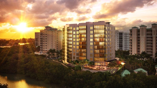 London Bay's' Grandview at Bay Beach will feature views of the Gulf of Mexico and Estero Bay.
