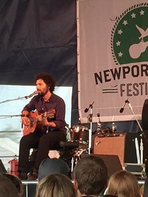 Jose Gonzalez in Newport