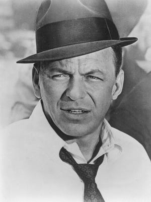Frank Sinatra is pictured here as the film detective Tony Rome.