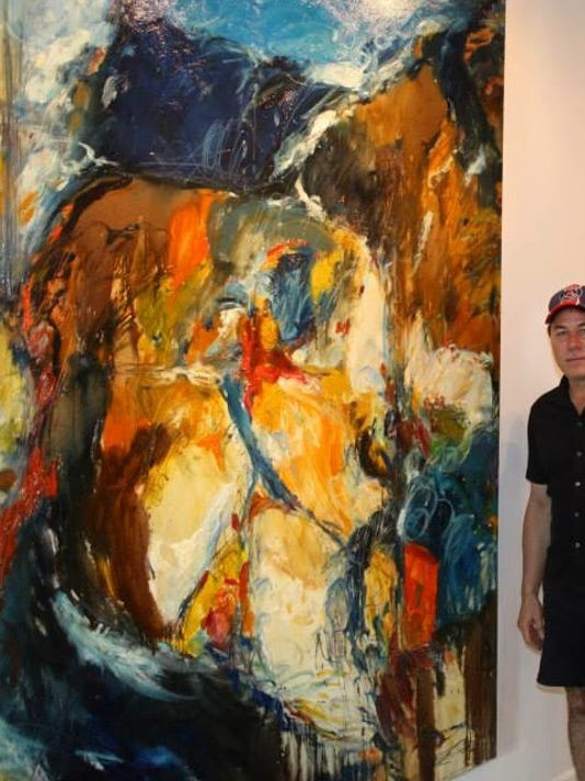 UCF Gallery Paul T Scarborough _Orange Sun_.jpg