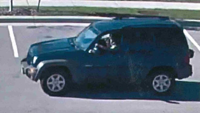 Oshkosh police say this vehicle picked someone up Sunday, Oct. 8, 2017, from the parking lot of City Hall, 215 Church Ave., after that person dropped off a vehicle being used by someone found dead Wednesday.