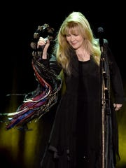 Fleetwood Mac singer Stevie Nicks performs at The Forum