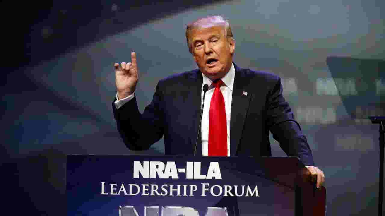 NRA eagerly awaits Trump appearance