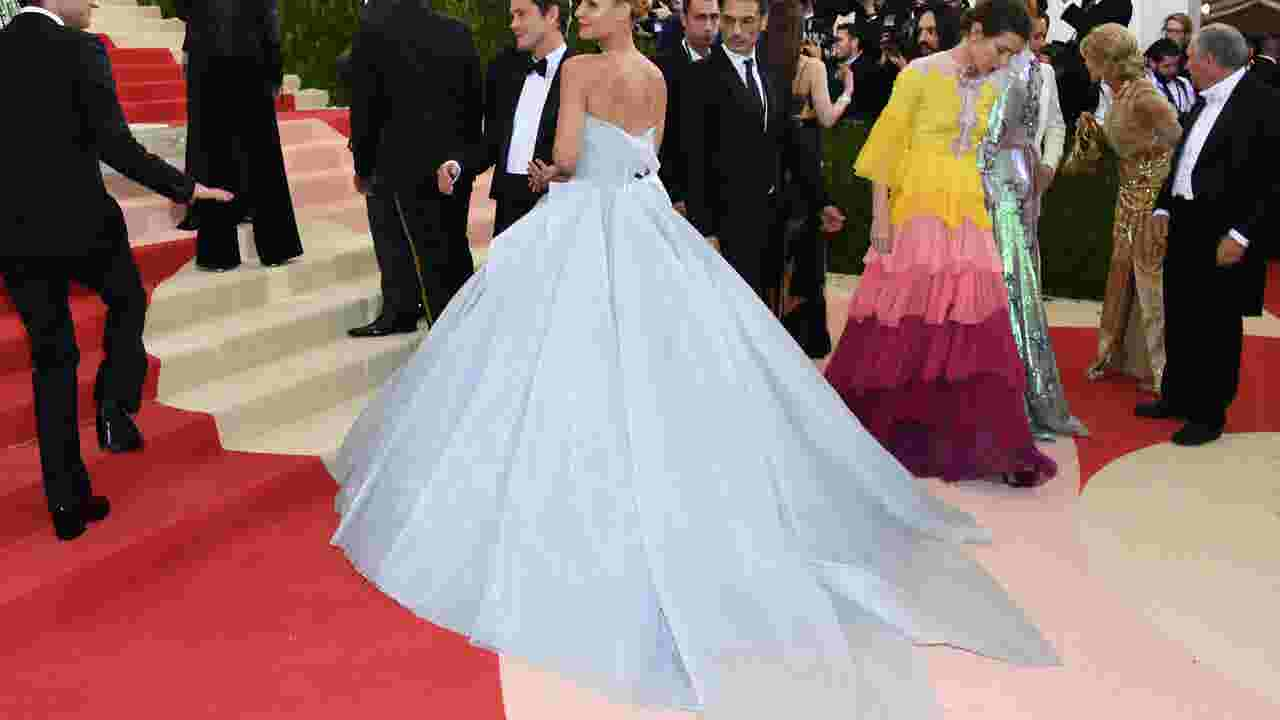 1b9b4f26fc Marchesa, Zac Posen and Claire Danes light up the Met Gala red carpet