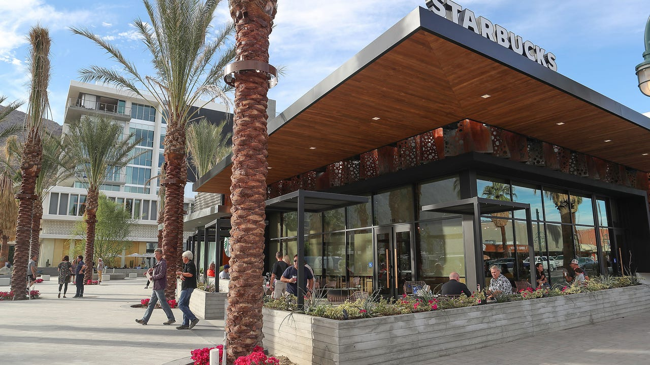 New Starbucks Reserve Coffee Bar Opens In Palm Springs