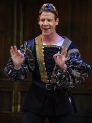 Jeb Burris plays Mercutio in the Utah Shakespeare Festival's