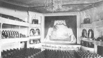Dover's third City Hall included an auditorium. It was built in 1891 and burned in 1933.