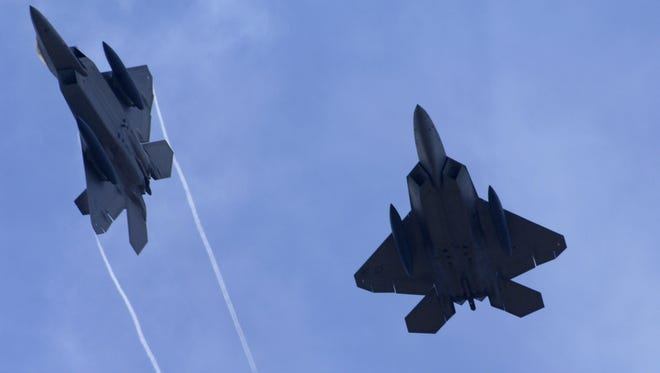 The F-22 is a stealth aircraft and pilots are trained to avoid being seen by enemies.