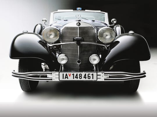 Mercedes-Benz that carried Adolf Hitler during parades