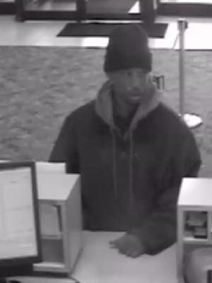 Police are looking for a man who robbed a Citizens Bank in Troy on April 23.