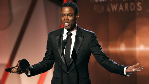 Chris Rock returns this year as host of the Oscars