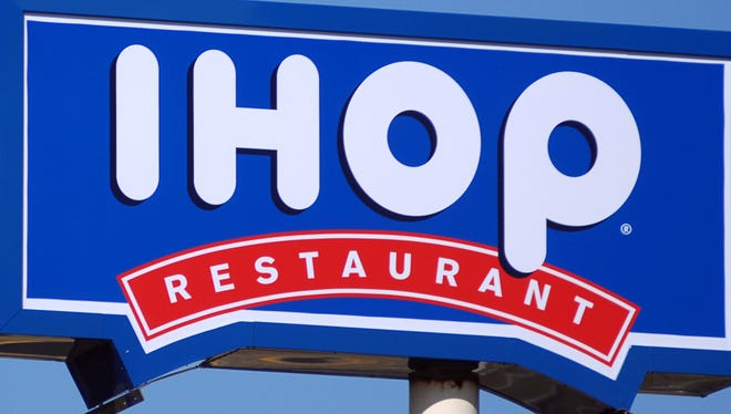 An IHOP Restaurant sign is shown in this 2010 photo.