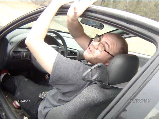 Brad Fields was arrested near the Georgia-Florida border