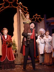 """The Nebraska Theatre Caravan's annual performance of """"A Christmas Carol"""" takes place Dec. 8 at the Flynn Center."""