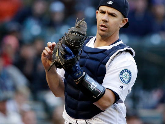 Tuffy Gosewisch was called up by the Mariners on Friday despite his .197 career batting average. He's considered an above-average defensive catcher.