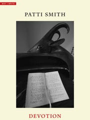 "Cover of Patti Smith's ""Devotion,"" published by Yale University Press."