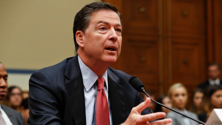 FBI Director James Comey testifies on Capitol Hill