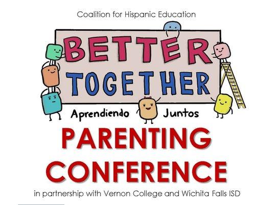 """""""Better Together"""" Parenting Conference logo"""