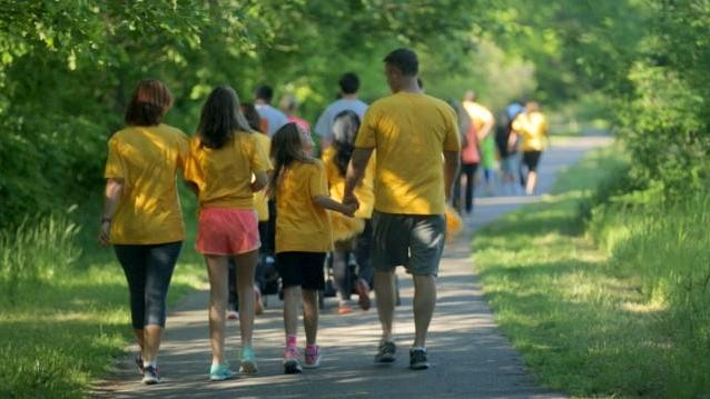 The St. Jude Walk/Run to End Childhood Cancer raises money for St. Jude Children's Research Hospital and kicks off at 8 a.m. Saturday at the Field House Sportscenter, 2235 W. Kingsley St. Registration is $10 for anyone 6 years old and older.
