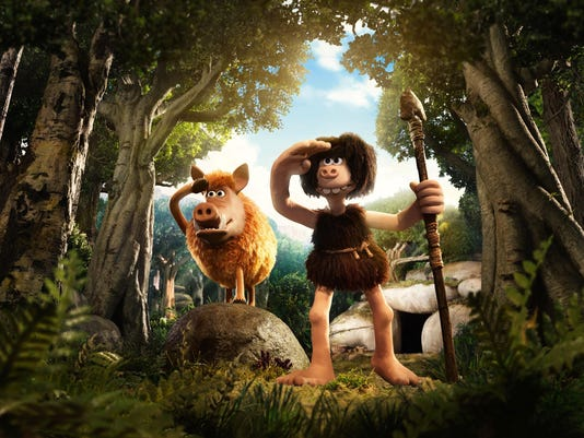 Nick Park's 'Early Man' wonderfully full of dated material