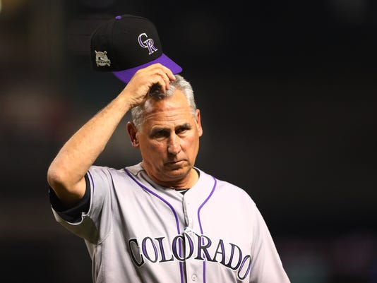 MLB: NL Wildcard-Colorado Rockies at Arizona Diamondbacks
